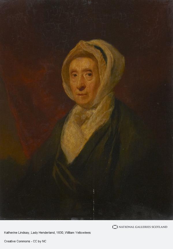 William Yellowlees, Katherine Lindsay, Lady Henderland