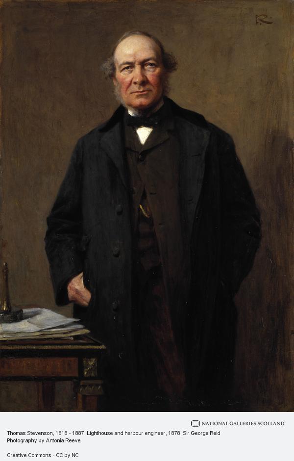 Sir George Reid, Thomas Stevenson, 1818 - 1887. Lighthouse and harbour engineer