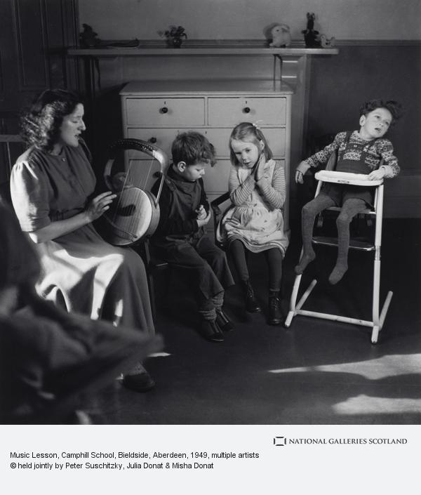 Edith Tudor-Hart, Music Lesson, Camphill School, Bieldside, Aberdeen