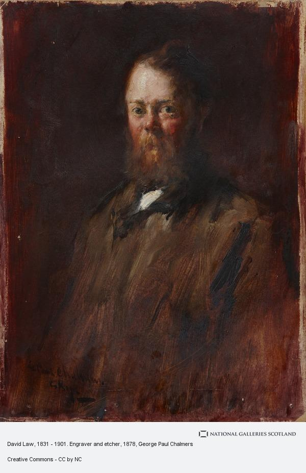 George Paul Chalmers, David Law, 1831 - 1901. Engraver and etcher
