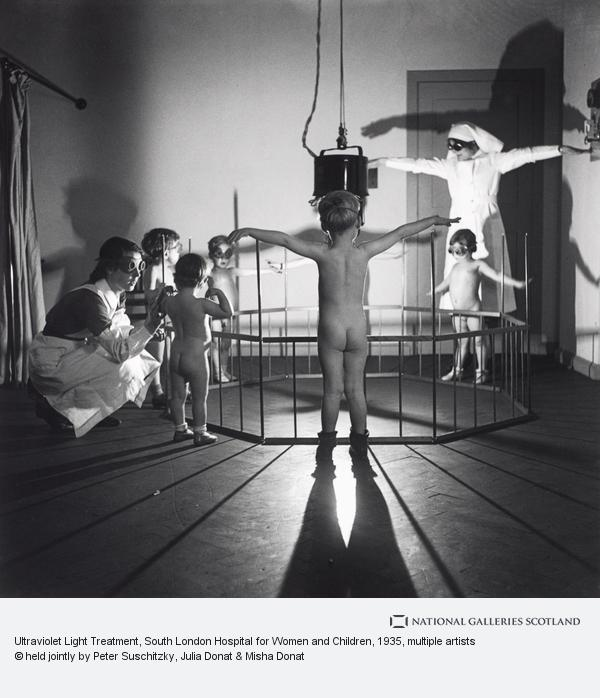 Edith Tudor-Hart, Ultraviolet Light Treatment, South London Hospital for Women and Children