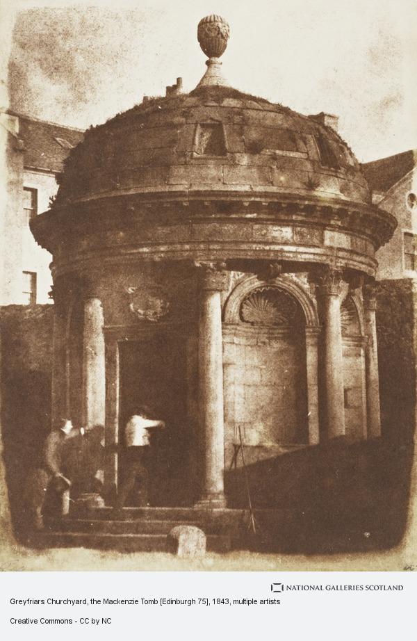 David Octavius Hill, Greyfriars Churchyard, the Mackenzie Tomb (About 1843 - 1844)