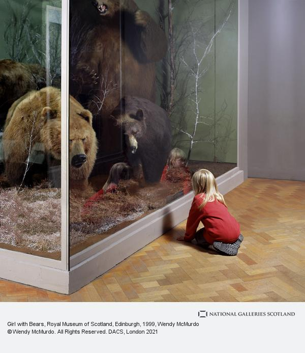 Wendy McMurdo, Girl with Bears, Royal Museum of Scotland, Edinburgh