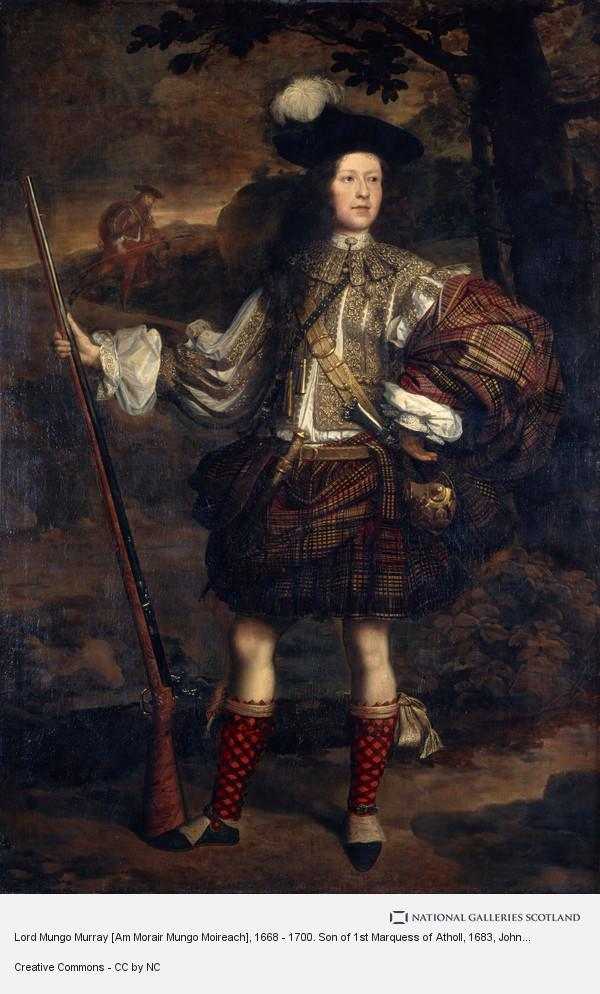 John Michael Wright, Lord Mungo Murray [Am Morair Mungo Moireach], 1668 - 1700. Son of 1st Marquess of Atholl (About 1683)
