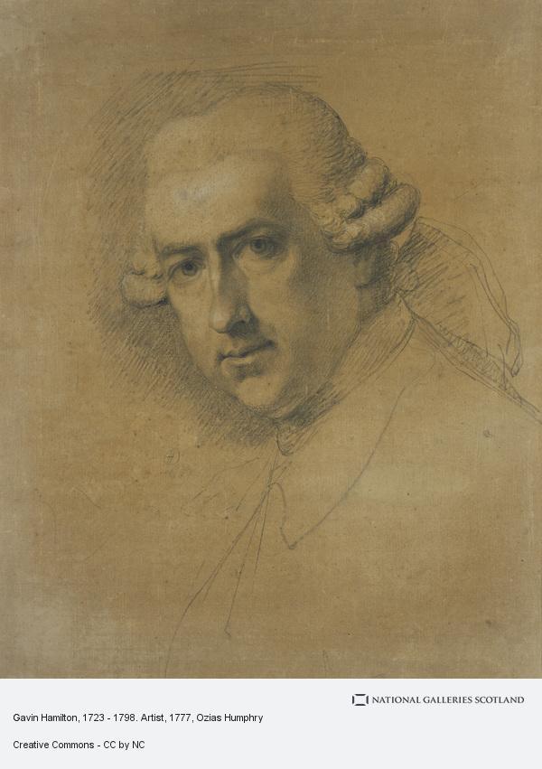 Ozias Humphry, Gavin Hamilton, 1723 - 1798. Artist