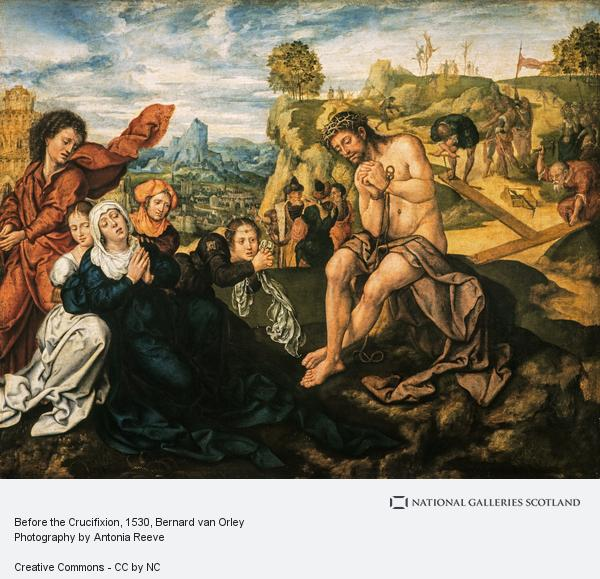 Bernard van Orley, Before the Crucifixion