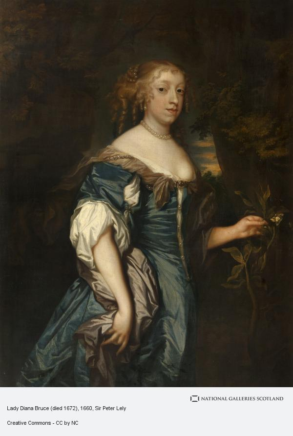 Sir Peter Lely, Lady Diana Bruce (died 1672)
