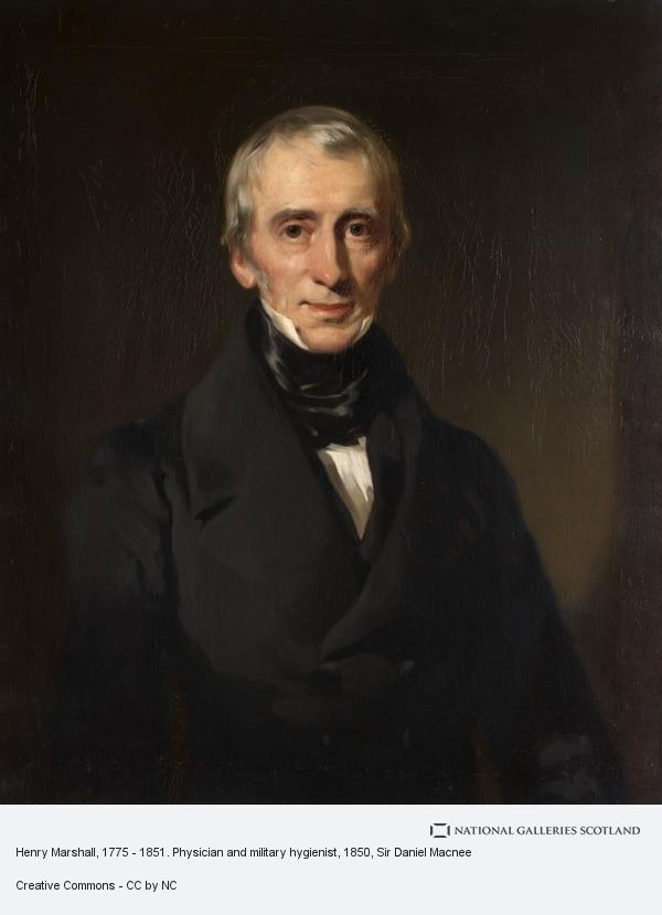 Sir Daniel Macnee, Henry Marshall, 1775 - 1851. Physician and military hygienist