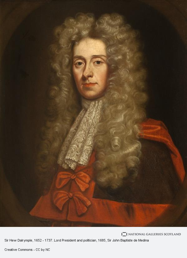 Sir John Baptiste de Medina, Sir Hew Dalrymple, 1652 - 1737. Lord President and politician