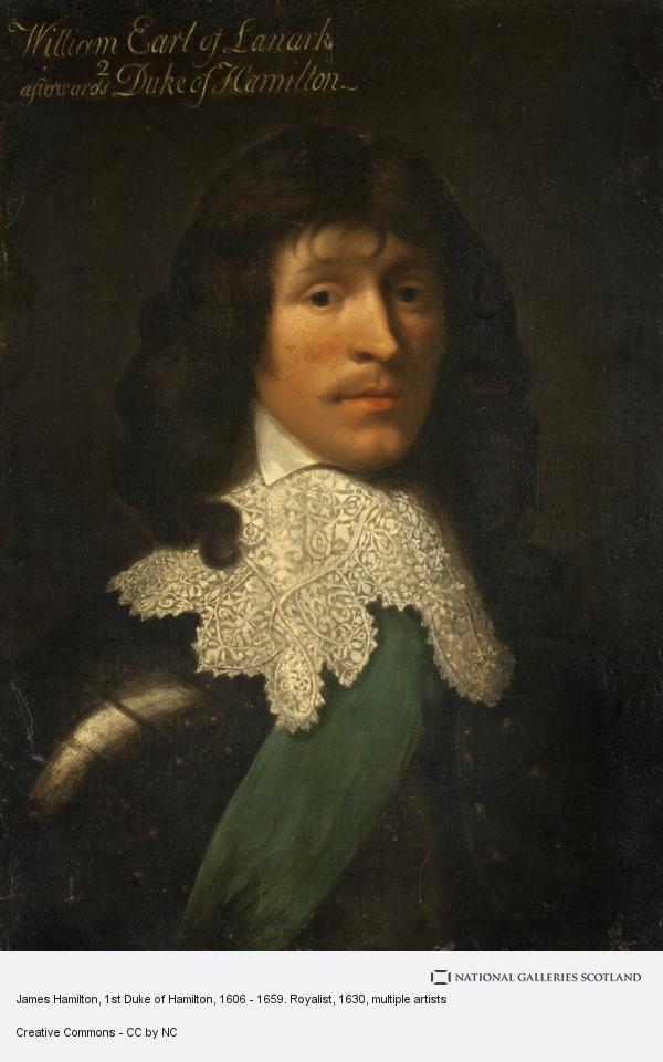 Unknown, James Hamilton, 1st Duke of Hamilton, 1606 - 1659. Royalist
