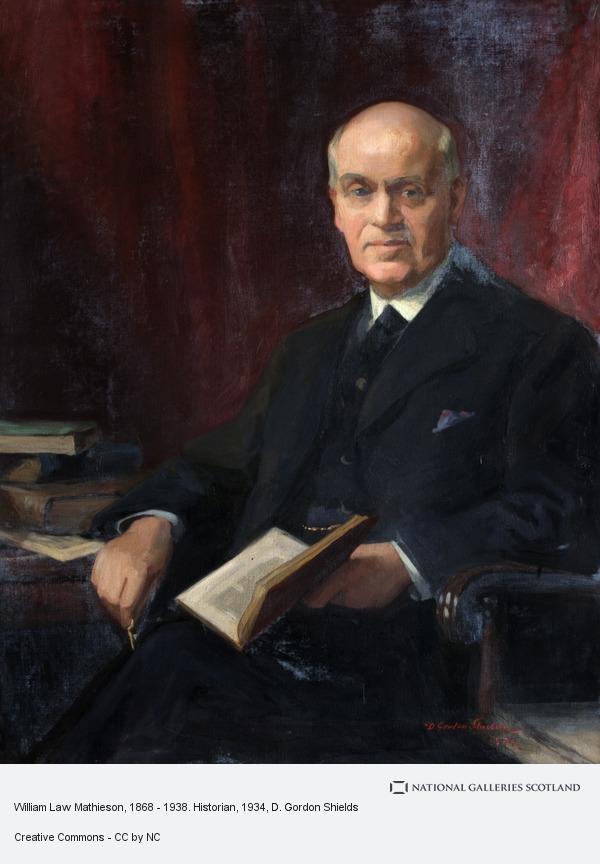 D. Gordon Shields, William Law Mathieson, 1868 - 1938. Historian