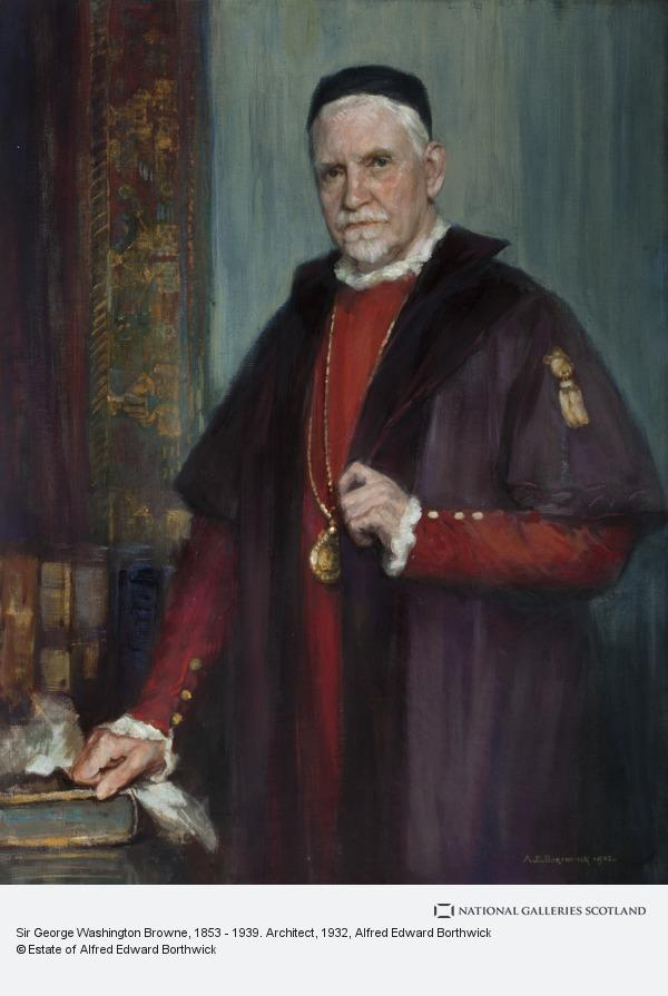 Alfred Edward Borthwick, Sir George Washington Browne, 1853 - 1939. Architect