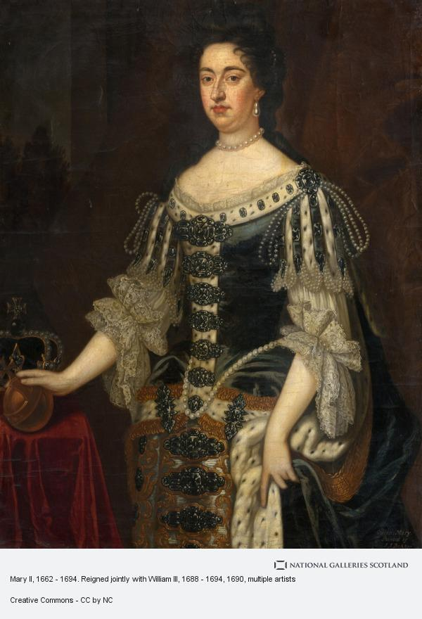 J.J. Bakker, Mary II, 1662 - 1694. Reigned jointly with William III, 1688 - 1694