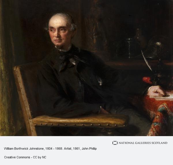 John Phillip, William Borthwick Johnstone, 1804 - 1868. Artist