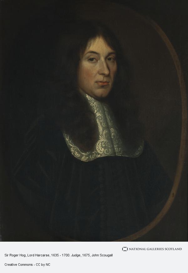 John Scougall, Sir Roger Hog, Lord Harcarse, 1635 - 1700. Judge