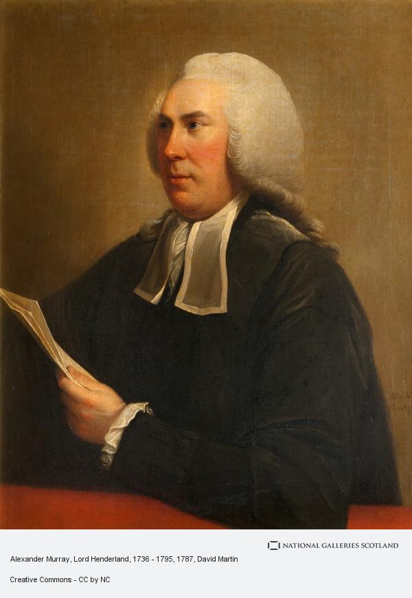 David Martin, Alexander Murray, Lord Henderland, 1736 - 1795