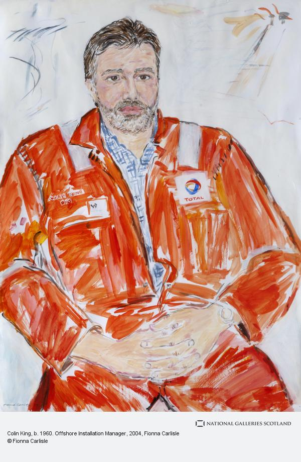 Fionna Carlisle, Colin King, b. 1960. Offshore Installation Manager