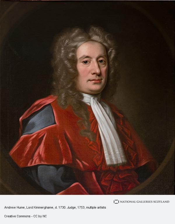 John Medina, Andrew Hume, Lord Kimmerghame, d. 1730. Judge