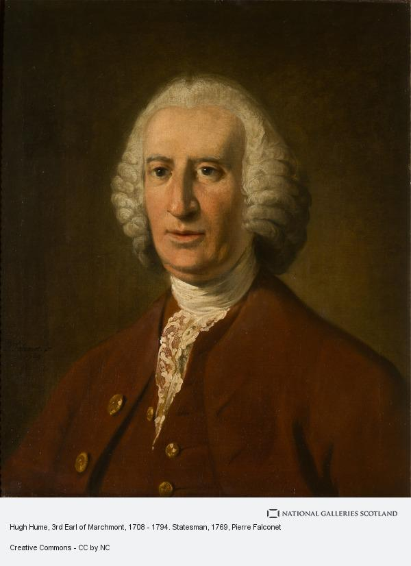 Pierre Falconet, Hugh Hume, 3rd Earl of Marchmont, 1708 - 1794. Statesman