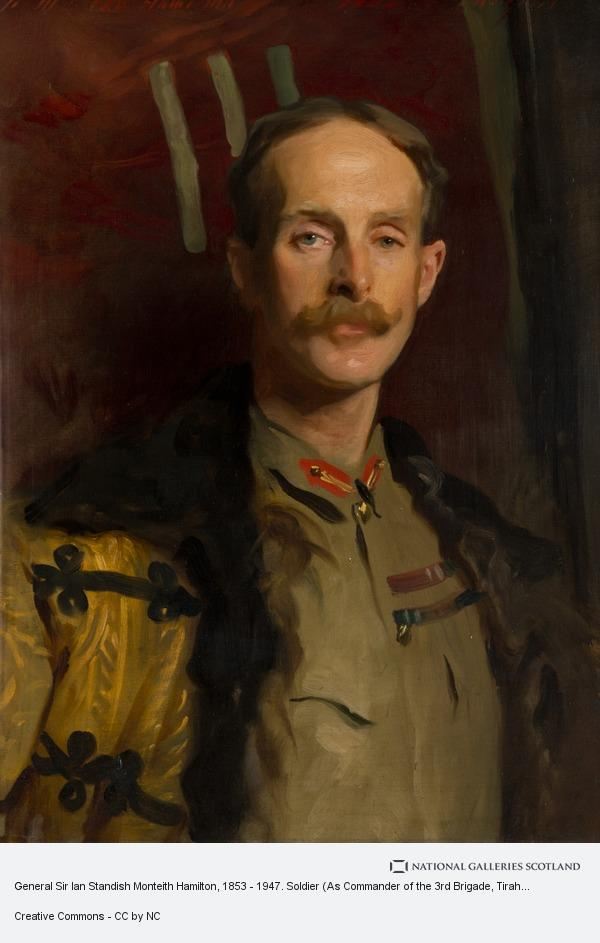 John Singer Sargent, General Sir Ian Standish Monteith Hamilton, 1853 - 1947. Soldier (As Commander of the 3rd Brigade, Tirah Field Force)