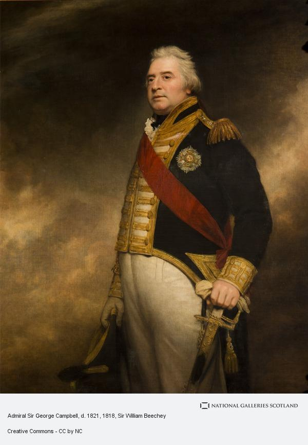 Sir William Beechey, Admiral Sir George Campbell, d. 1821