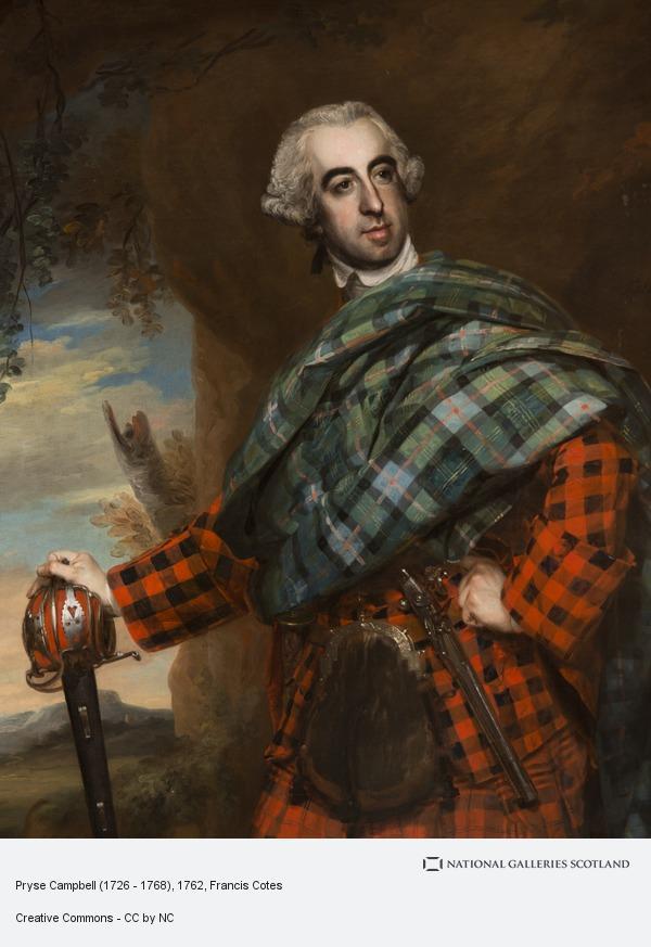 Francis Cotes, Pryse Campbell (1726 - 1768)