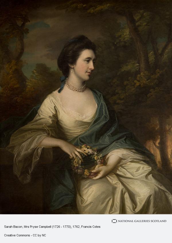 Francis Cotes, Sarah Bacon, Mrs Pryse Campbell (1726 - 1770)