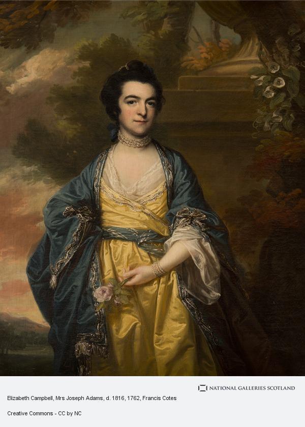 Francis Cotes, Elizabeth Campbell, Mrs Joseph Adams, d. 1816