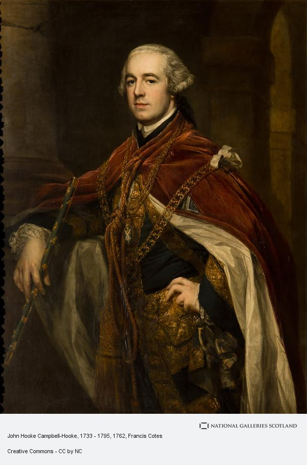 Francis Cotes, John Hooke Campbell-Hooke, 1733 - 1795