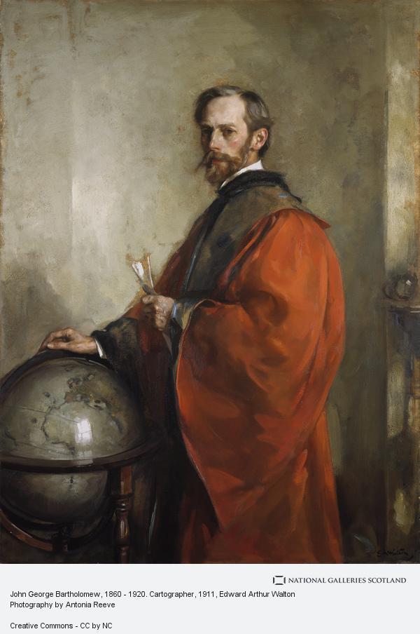 Edward Arthur Walton, John George Bartholomew, 1860 - 1920. Cartographer (About 1911)