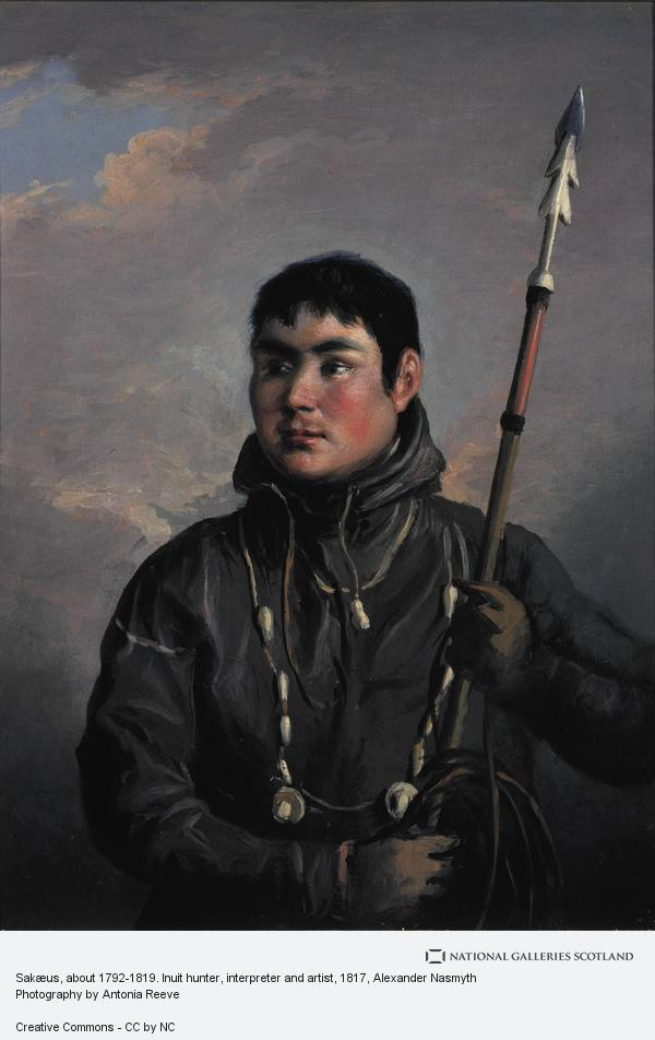 Alexander Nasmyth, John Sakeouse, 1792 - 1819. Eskimo whaler and draughtsman (About 1816)
