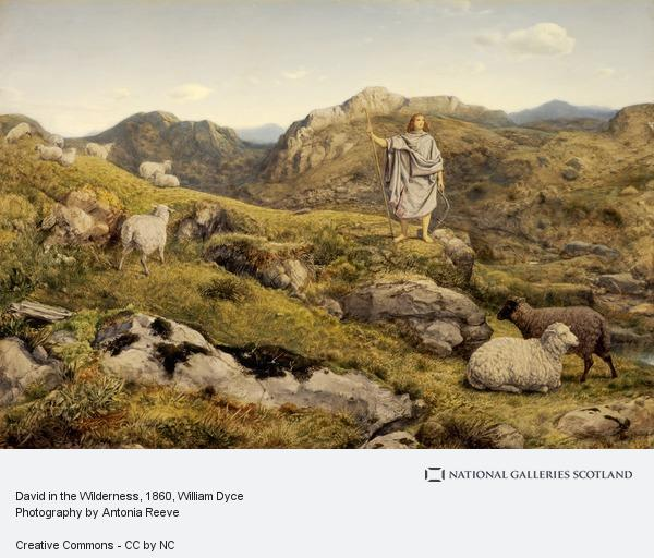 William Dyce, David in the Wilderness