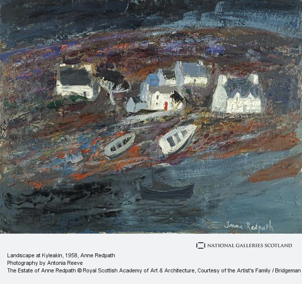 Anne Redpath, Landscape at Kyleakin (About 1958 - 1960)