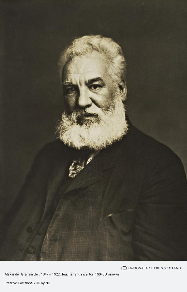 Unknown, Alexander Graham Bell, 1847 – 1922. Teacher and inventor (About 1904)