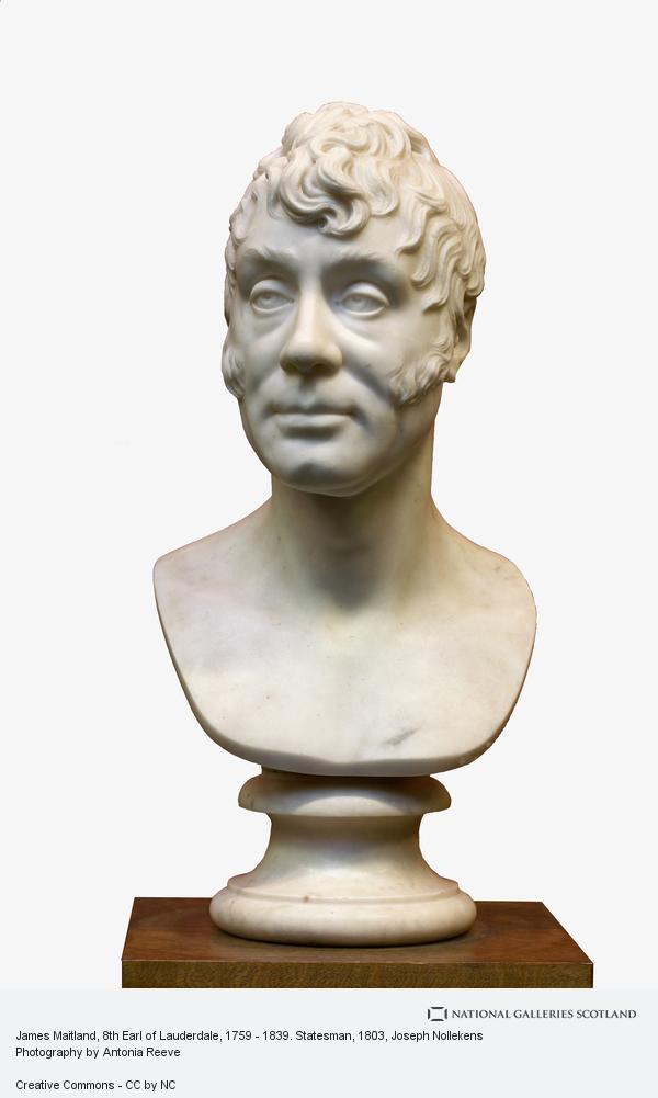Joseph Nollekens, James Maitland, 8th Earl of Lauderdale, 1759 - 1839. Statesman (1803)