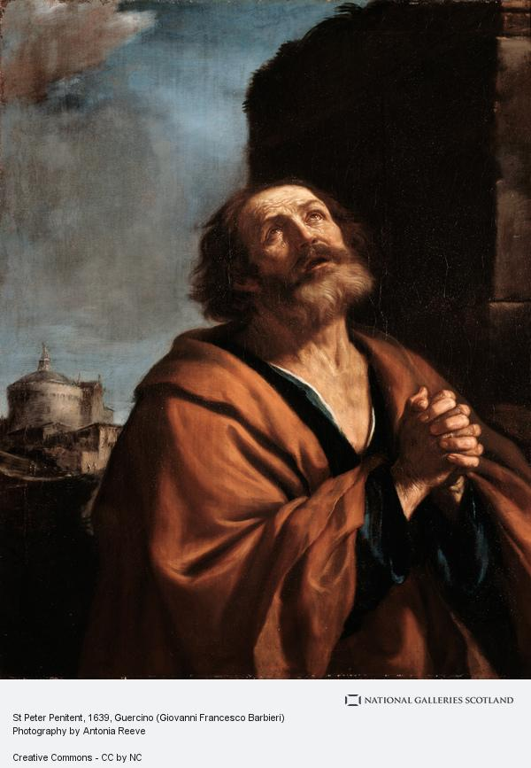 Guercino, St Peter Penitent