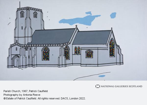 Patrick Caulfield, Parish Church