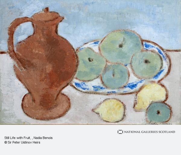 Nadia Benois, Still Life with Fruit