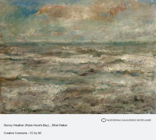 Ethel Walker, Stormy Weather (Robin Hood's Bay)