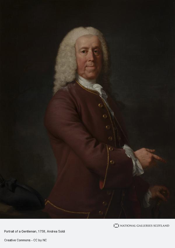 Andrea Soldi, Portrait of a Gentleman