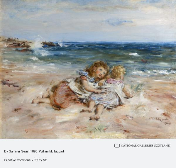 William McTaggart, By Summer Seas