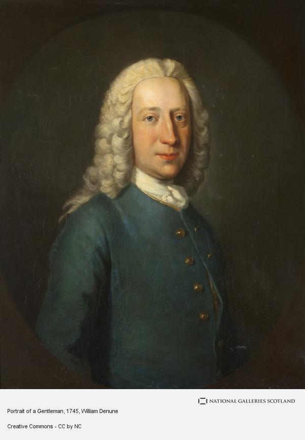 William Denune, Portrait of a Gentleman