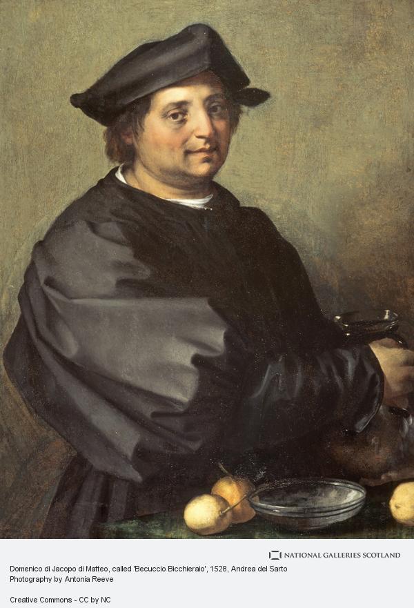 Andrea del Sarto, Domenico di Jacopo di Matteo, called 'Becuccio Bicchieraio'