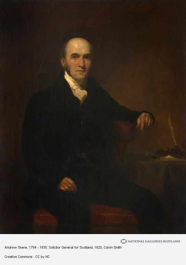 Colvin Smith, Andrew Skene, 1784 - 1835. Solicitor General for Scotland