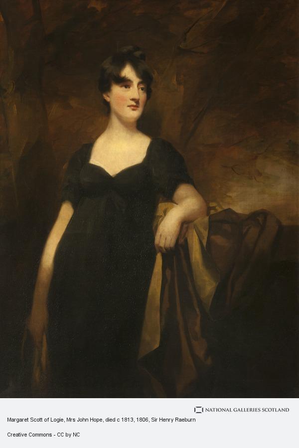 Sir Henry Raeburn, Margaret Scott of Logie, Mrs John Hope, died c 1813