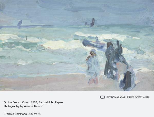 Samuel John Peploe, On the French Coast
