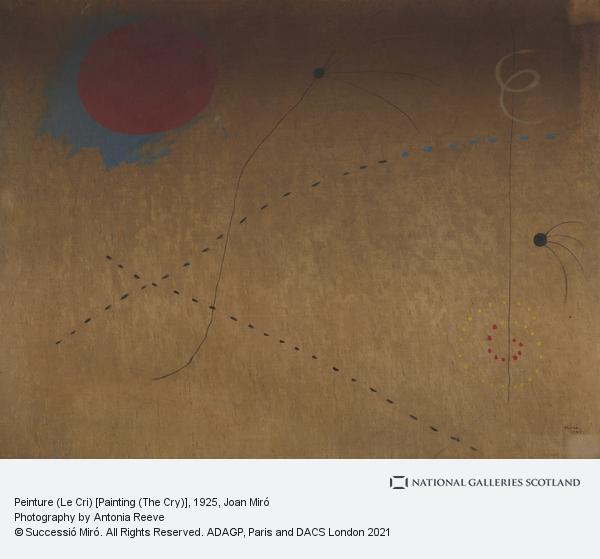Joan Miro, Peinture (Le Cri) [Painting (The Cry)]