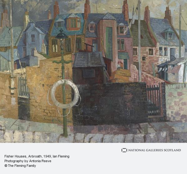 Ian Fleming, Fisher Houses, Arbroath
