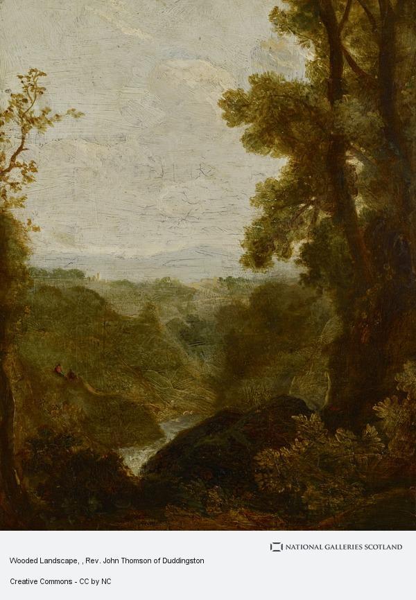Rev. John Thomson, Wooded Landscape
