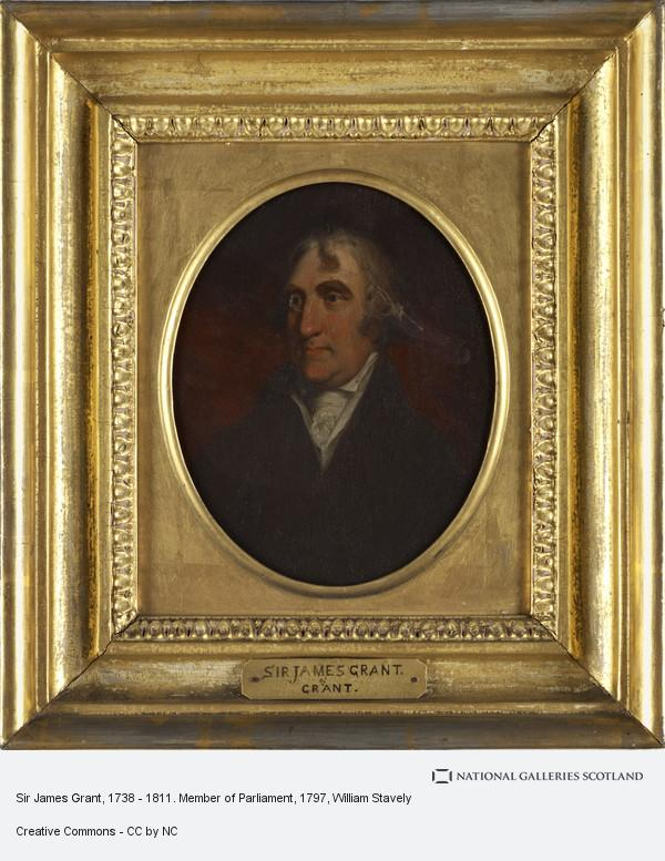 William Stavely, Sir James Grant, 1738 - 1811. Member of Parliament